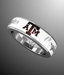 texas a m university white aggies band aggie jewelry collegiate jewel
