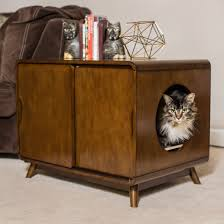 designer litter box.  Box Cool Litter Box Furniture Applied To Your House Idea Designer Catbox  Enclosure  For B