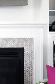 Decorative Tiles For Fireplace IHeart Organizing DIY Fireplace BuiltIn Tutorial 56