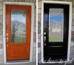 how to paint your front door with 3m diy
