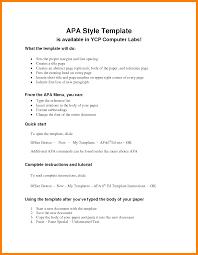 Apa Resume Sample Cover Letter Samples Cover Letter Samples