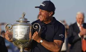No golfer age 50 or older had won a major championship until mickelson's win at kiawah island. T4grat Votyhkm