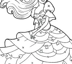 Barbie Coloring Pages Print Barbie Print Out Coloring Pages