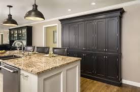 Grey Walls In Kitchen Kitchen Black Kitchen Cabinets 46 Dark And Black Kitchen