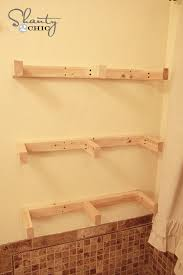 How To Make Floating Shelves From Scratch Cool DIY Floating Shelves How To Measure Cut And Install