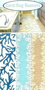 beach themed area rugs coastal rug