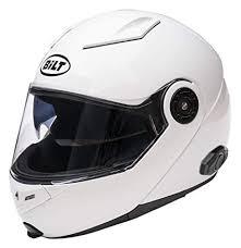 Bilt Techno 2 0 Sena Bluetooth Modular Helmet Md White