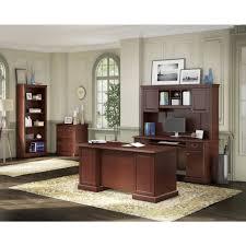 Kathy Ireland fice by Bush Business Furniture Bennington Manager s Desk rcwilley image3 1000 r=6