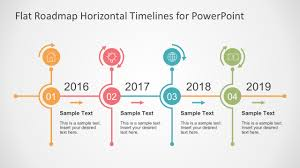 Picture Timeline Flat Timelines Powerpoint Templates