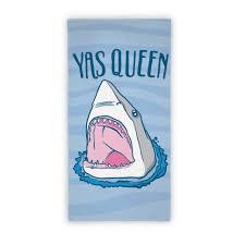 funny beach towels. Yas Queen Shark Beach Towel Funny Towels E