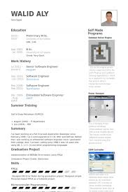Senior Software Engineer Resume Samples Visualcv Resume Samples