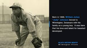 "Black History Month Wilmington Firsts - William ""Judy"" Johnson - YouTube"