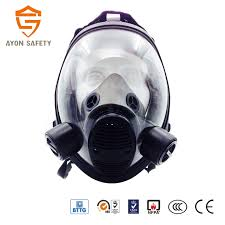 Spherical Silicone Anti Gas Mask Respiratory Protection Full Face Mask With Double Protection Filter Buy Anti Gas Mask Antigas Mask Respiratory