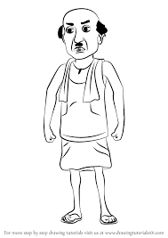 28 collection of motu patlu cartoon drawing