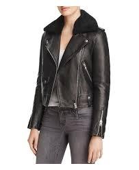 sweden lyst mackage baya sheepskin fur trim leather down moto jacket in 299a3 1452a promo code mackage miela n belted