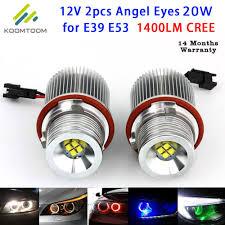 Led Marker Angel Eyes Car Headlights For Bmw Angel Eye 20w