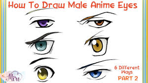 how to draw male anime eyes. Interesting Draw How To Draw  For Male Anime Eyes W