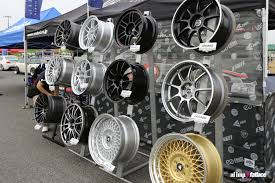 Alloy Wheel Display Stand AutoFashion Imp Japan pt 100 Fatlace™ Since 100 55
