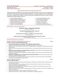 Security Officer Resume Samples Free Agenda Template