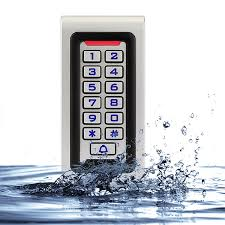 <b>RFID Keypad Access Control</b> Waterproof IP68 Metal Case 125KHZ ...