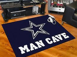 dallas cowboys man cave 34 x43 all star area rug mat