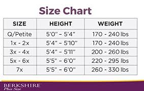Berkshire Size Chart Berkshire Womens Plus Size Queen All Day Sheer Non Control Top Pantyhose Sandalfoot City Beige Queen Petite