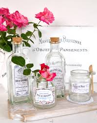 vintage apothecary jar labels