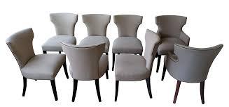 crate barrel furniture reviewslowe ivory leather. Crate \u0026 Barrel Sasha Dining Chairs - Set Of 8 | Chairish Image Furniture Reviewslowe Ivory Leather U