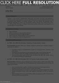 Most Effective Resume Format | Resume Work Template