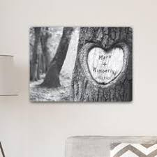 save 40 personalized signs everlasting love tree carving canvas sign on customizable canvas wall art with personalized canvas prints custom canvas art