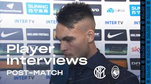 INTER 1-1 ATALANTA | LAUTARO + HANDANOVIC + SENSI EXCLUSIVE INTERVIEWS [SUB  ENG]