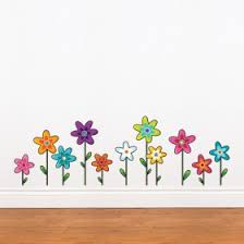 Small Picture Flower Decal Flower Wall Decals Rosenberry Rooms