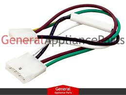 sears kenmore kitchenaid whirlpool ice maker harness plug 2187464 ebay whirlpool ice maker wiring harness adapter at Ice Maker Wiring Harness