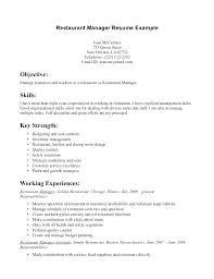 Fine Dining Resume Example Fine Dining Resume Server Resume Skills