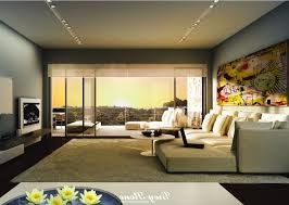 Television Tables Living Room Furniture Living Room White Flooring Lamp Gray Chairs Television Stunning