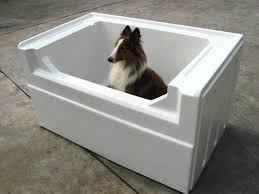image of dog washing tubs home