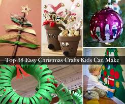 Top 38 Easy And Cheap DIY Christmas Crafts Kids Can Make  Amazing Christmas Crafts Cheap