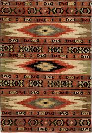 interior good looking southwestern style rugs kalaty pile rug red green area tribal design multi colored