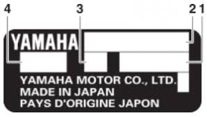 Yamaha Outboard Serial Number Location And Model