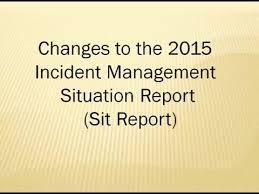 Incident Management Situation Report Rome Fontanacountryinn Com
