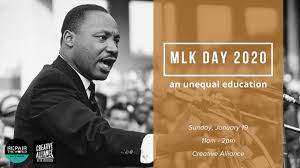 MLK Day 2020: An Unequal Education ...