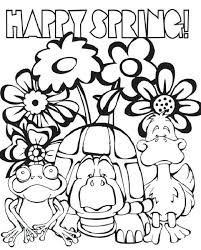 Free Spring Coloring Pages Free And Fun Coloring Pages Fun Coloring