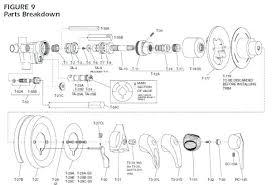 replacement moen shower handle replacing temp shower valve image bathroom how to install moen shower faucet handle