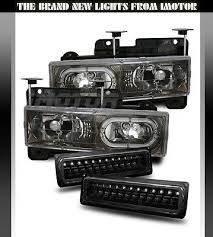 17 best ideas about 1998 chevy silverado chevy 1500 details about 1988 1998 chevy c k 1500 2500 3500 gmc sierra halo black headlights bumper lamps