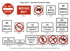 Mutcd Sign Chart Chapter 2b Mutcd 2009 Edition Fhwa