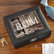 personalized gifts for men unique gifts for him personal creations leather watch box storage valet
