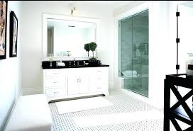 White bathroom cabinets with granite Oil Rubbed Bronze Hardware Black And White Bathroom Cabinets White Bathroom Black Bathroom Nice White Bathroom Vanity With Black Within Brashopco Black And White Bathroom Cabinets White Bathroom Black Bathroom Nice