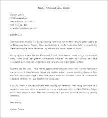 Free Example Of Resignation Letters Resignation Letter Templates Retirement Samples To Employer