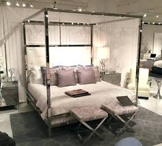 chrome canopy bed – kachino.me