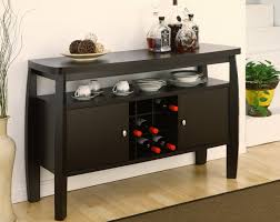 Amazoncom IoHOMES Clyton Dining Buffet Dark Espresso Buffets - Buffet table dining room